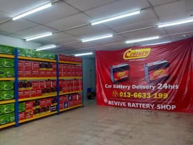 Century motolite car battery bateri kereta 24 hour