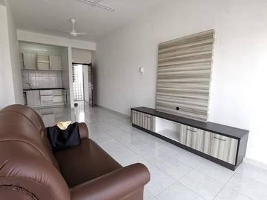 New Puncak Saujana Permai 1 Mutiara Height furnish apartment lift
