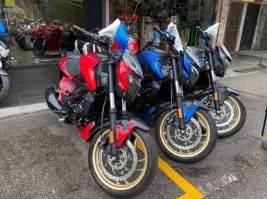 New Modenas Dominar D400 Ready Full Loan