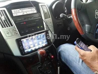 Toyota harrier cd dvd casing radio casing