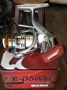 EPower VF 1000 ~ 4000 Fishing Reel - Bunyi Loceng