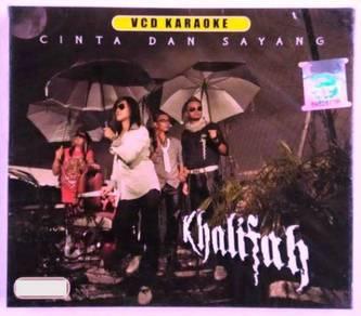 VCD MTV Karaoke Khalifah Cinta Dan Sayang