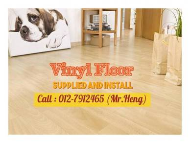 Simple Vinyl Floor with Installation 75ST