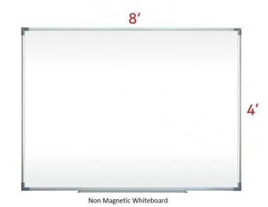 Non Magnetic Whiteboard 4'x8'~Siap Hantar& Pasang