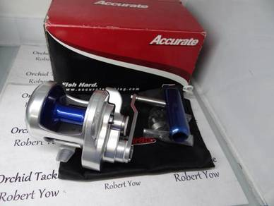 Accurate BX 500 left hand fishing pancing reel