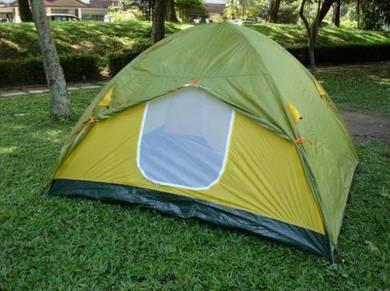 Spiii-6persons dome tent-2 door