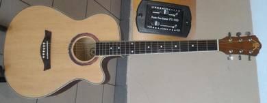 A&K Semi Acoustic Guitar 40 Inch Model 220E