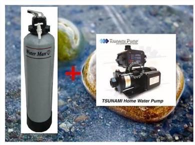 COMBO Water Filter + Tsunami Water Pump m78q
