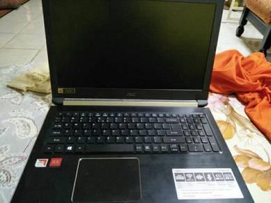 Acer aspire 5 , 256gb SSD , 8gb ram , 1TB HDD