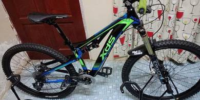 Basikal MTB XDS Fullsus Mountain Bike 27.5