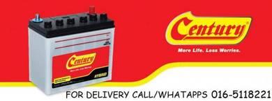 Car battery century ,amaron bateri kereta ns40zl