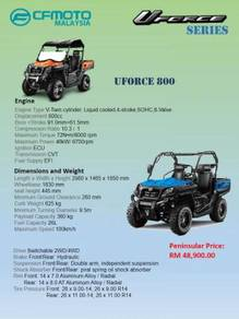 CFMoto Utility Terrain Vehicle UTV ATV UForce 800