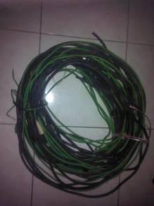 Wayar incoming copper wire meter ke db earth groun