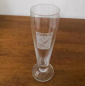 Cawan carlsberg tall glass cup