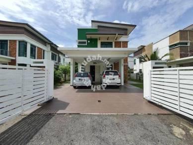 [must view] banglo 2 tingkat fully furnished taman paya rumput perdana