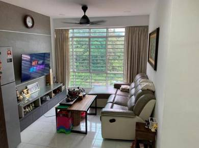 BEST UNIT!! ONLY RM310k|SURIA VISTA|700sf|FULLY RENO & FURNISHED |