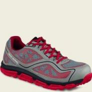 Safety Shoe Red Wing Athletic Grey Red EH AT 6330