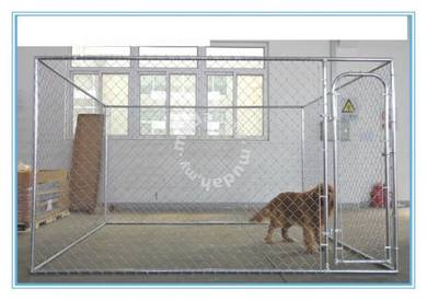 Lucky Dog 6HX10WX10L Chain Link Kennel Kit