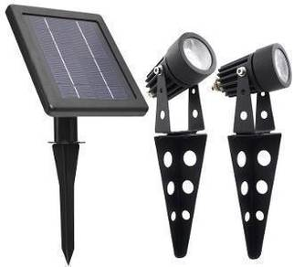 Solar landscape light - twin