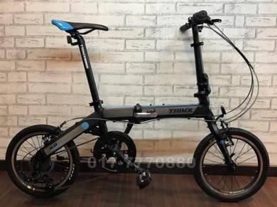 NEW TRINX WARWOLF 4.0 BASIKAL FOLDING Bike Bicycle