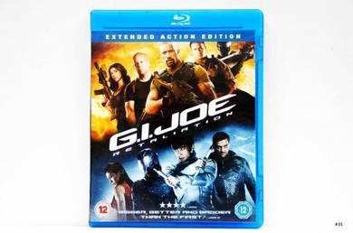 Original Bluray - G.I. JOE Retaliation Blu-ray