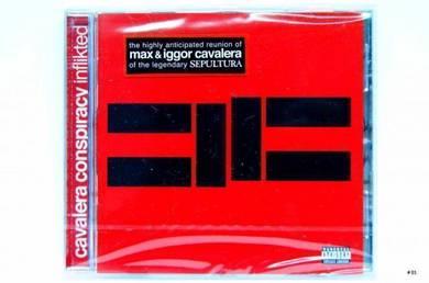 Original CD - CAVALERA CONSPIRACY - Inflikted NEW