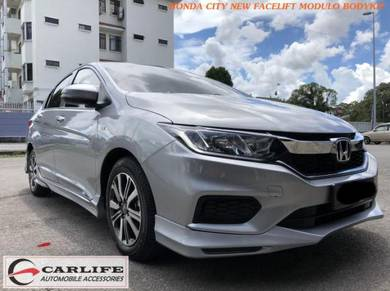 HONDA CITY New Facelift Modulo Design Bodykit