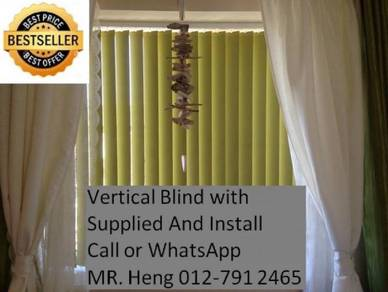 Elite Vertical Blind - With Install w54y