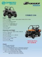 CFMoto Utility Terrain Vehicle UTV ATV UForce 550