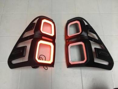 Hilux rocco revo tail lamp cover led drl bodykit