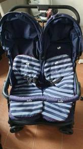 Used Twin Trolley and Car Seat Carrier for sales