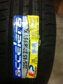 Tire accelera phi 225 45 18 2016 accord CAMRY