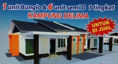 Rumah untuk dimiliki bersebelahan Sek Keb Delima, Wakaf Bharu
