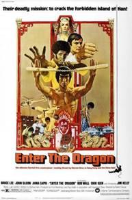Poster MOVIE ENTER THE DRAGON