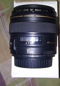 CANON 85mm EF 1.8