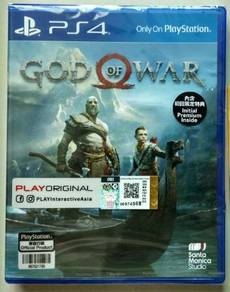 PS4 God of war Rall Eng/中文