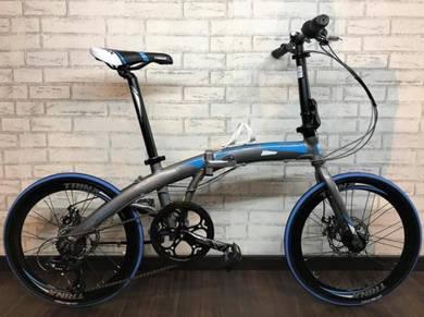 Trinx Dolphin 2.0 Folding Bike 7SP Bicycle BASIKAL