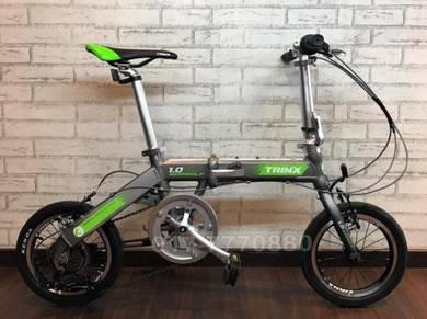 2018 Trinx WARWOLF 1.0 7SPEED folding bike BICYCLE