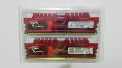 RAM DDR3 16GB (8GBx2) G.SKILL RipjawsX
