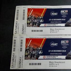 Wtcr tickets