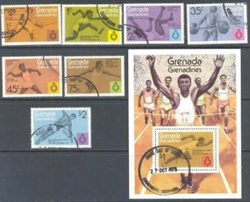 Grenada grenadines 1975 pan-american games bj348