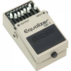 Boss GE-7 Graphic Equalizer Effect