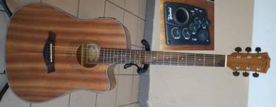 Mentreel Semi Acoustic Guitar 41Inch 160CE