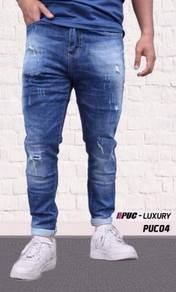 New Arrival PUX Luxury Jeans slimfit