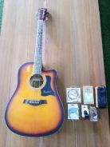 Brandnew 41inc sunset Acoustic Guitar Package