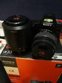 Sony Alpha33 DSLR