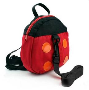Baby Kids AntiLost Safety Backpack w Strap Ladybug