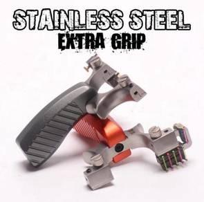Slingshot Grip Stainless Steel | Lastik Steel