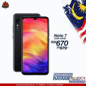 Xiaomi Redmi note 7 Msia Set + GIFT
