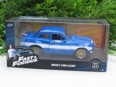 Jada 1/24 Fast & Furious FORD ESCORT RS2000 MK1